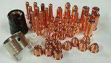 43pc Plasma Cutter Tip + Electrode Set Fits WeldPro® 60A - CUT60HSV & CUT60NH0