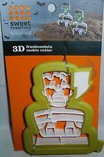 Halloween Cookie Cutters   3-D FRANKENSTEIN