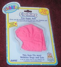 Ganz Webkinz Pink Baggy Jean As seen in the W Shop  Clothes with code NIP