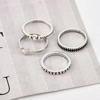 Women Love Heart Best Friend Ring Promise Jewelry Friendship Rings Girl Gift Q