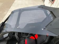 RZR RS1 ROOF 1000 Smoked Polycarbonate  SHOULDER COVERAGE Tinted Polaris 2018-20