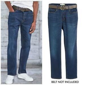 NEXT Mens Indigo Denim Straight Leg Jeans