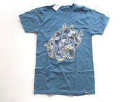 Ecko Unltd T Shirt Mens Size Small Blue Rhino Graphic T Shirt New