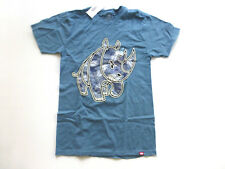 Ecko Unltd Mens Size Small Blue Palm Fill 3 Rhino T Shirt New