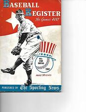 1941 Sporting News Baseball Register Classic!!