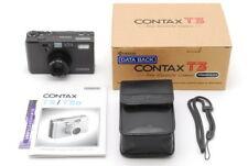 【MINT in Box】 Contax T3 Titanium Black 35mm Film Camera Ship DHL From JAPAN e04