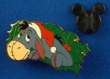 Eeyore Christmas Wreath Set 12 Months of Magic On Card Disney Pin # 16958