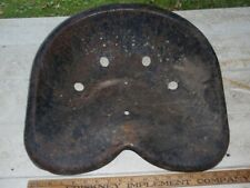 Old Metal Tractor Or Horse Drawn Implement Seat Lot Dd