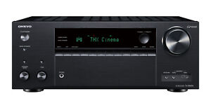 Onkyo TX-NR696 7.2-Channel 4K Ultra HD HDR Network A/V Receiver *TXNR696
