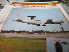 Fliegen 5: Karte 22 Boeing E 3D, E 3F Sentry