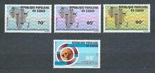 AFRIQUE CONGO - 1971 YT 117 à 120 POSTE AERIENNE - TIMBRES NEUFS* MH charnière