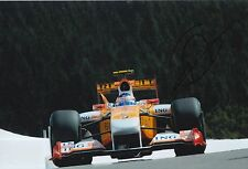 Romain Grosjean Hand Signed ING Renault F1 12x8 Photo 5.