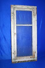 Nr.1 altes Holz Sprossenfenster mit Rahmen Fenster Holzfenster Shabby 103x48cm