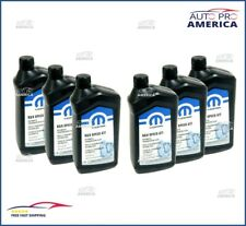 Case (6) 1Qt Chrysler Dodge Jeep Ram Zf 8 & 9 Speed Automatic Transmission Fluid