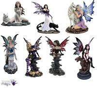 *Nemesis Now Fairy Faerie Pixie Gothic Goth Figurine Home Gift Statue Ornament*