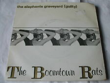 """THE BOOMTOWN RATS - THE ELEPHANTS GRAVEYARD (GUILTY) MERCURY 7"""""""