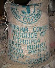 5 lbs Ethiopian Queen City Harrar Grade 4 Fresh Unroasted Coffee Beans