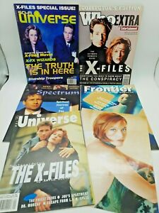 Vintage X-Files Collector Magazines & Photo Collection 1990's