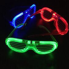 1 PCS LED Shutter Sunglasses Light Up Shades Flashing Rave Wedding GIFT  Glasses