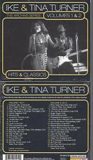 CD--TURNER,TINA & IKE--VOL.1 & 2-HITS & CLASSICS -THE ARCHIVE SERIES -   DOPPEL-