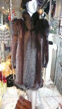 GORGEOUS Ranch MINK Coat Fox Tuxedo Collar Trim Lovely Style