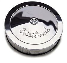 "Edelbrock 1207 Air Filter Assembly 14"" Diameter With 3"" Paper Element 3-5/16"""
