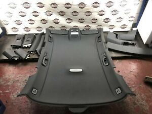 2010 AUDI A4 B8 AVANT ESTATE BLACK ROOF LINER HEAD LINING COMPLETE SET