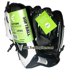 "NWT Easton Fast Pitch Softball Youth 11"" Right Hand Thrower Glove Black & White"