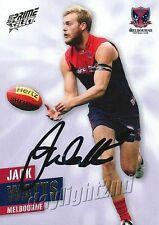 ✺Signed✺ 2013 MELBOURNE DEMONS AFL Card JACK WATTS