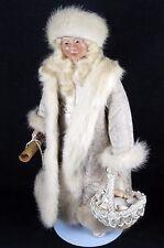 "Collectible All Orig. Christmas figure Russian Kolyada 13.5"" Brenda Goin Morris"