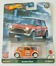 Hot Wheels Morris Mini Orange #3 Car Culture British Horsepower 3/5 Real Riders
