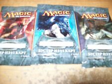 3 Russian Packs of Magic the Gathering: 2012 Core Set M12 free shipping tracked
