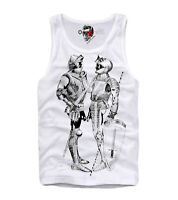 E1SYNDICATE TANK TOP SHIRT LGBT GAY KNIGHTS PRIDE  TOM OF FINLAND  4472