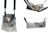 Snuggles 2 in 1 Hanging Hammock Tunnel or Carry Carrying Bag for Rats & Ferrets