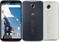 """Motorola Nexus 6 - 5.96"""" - 13Mp camera - 3220mAh - Unlocked -Smartphone - BLACK"""