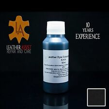 Black Leather Colour Dye Varnish Repair Refreshing Manufacturing Re-colouring 50
