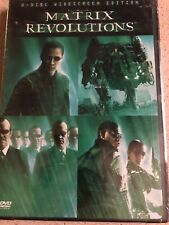 THE MATRIX REVOLUTIONS (DVD, 2004, 2-Disc Set, With Jupiter Ascending Movie...)