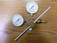 MATHESON DUAL PRESSURE GAUGE REGULATOR P/N 63-3143 & P/N 63-9133 MODEL 4-580