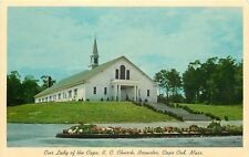 Brewster~Cape Cod Massachusetts~Our Lady Of The Cape R C Church~1963 Postcard