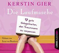 KERSTIN GIER - DIE LAUFMASCHE-17 GUTE GELEGENHEITEN,DEN TRAUM  4 CD NEU