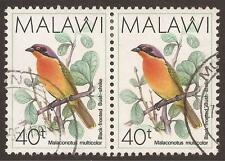 Malawian Birds Used Stamps