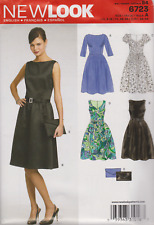 From UK Sewing Pattern Dress (4 styles) 8-18 #6723