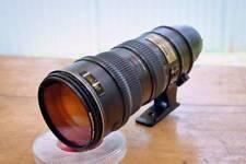 Nikon AF-S VR Nikkor 70-200mm 1:2.8G