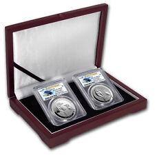 2017 Australia Silver 2-Coin Kookaburra Set MS/PR-70 PCGS (FS)