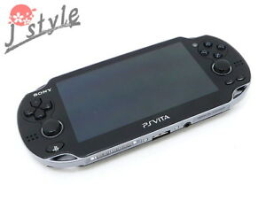 [EXC] Sony PS VITA Wi-Fi Black PCH-1000 ZA03 Handheld Game Console #G8