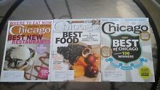 LOT OF 3 CHICAGO MAGAZINES MAY/JULY/AUG 2007/RESTAURANTS/FASHION/FOOD/BEST OF