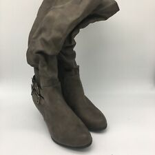 Jacquline Smith Boots Brown Seude,Size 7
