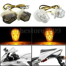 Flush Mount LED Turn Signal Blinker Light For Yamaha FZ6R FZ1 YZF R1 R6 R6S FZ09
