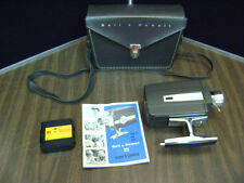 Bell & Howell 311 Autoload Super 8 Movie Camera With Case & Manual