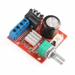 PAM8610 Mini 10W+10W Stereo Audio Power Amplifier Board Module w/ Volume Control